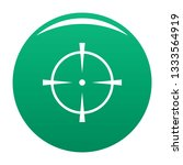 radar screen icon. simple...   Shutterstock . vector #1333564919
