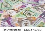 collection of saudi arabia... | Shutterstock . vector #1333571780