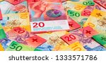collection of the new swiss... | Shutterstock . vector #1333571786