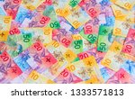 collection of the new swiss... | Shutterstock . vector #1333571813