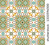 colorful pattern for textile ... | Shutterstock . vector #1333596500
