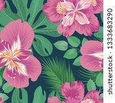 floral seamless pattern. ... | Shutterstock . vector #1333683290
