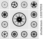 wheels | Shutterstock .eps vector #133370933