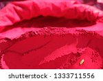 indian colorful powder  abir ... | Shutterstock . vector #1333711556