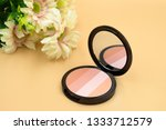 close up of beauty cheek brush... | Shutterstock . vector #1333712579