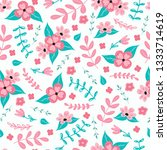 seamless pattern background... | Shutterstock .eps vector #1333714619