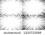 speed lines background. comic... | Shutterstock .eps vector #1333723589