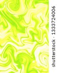 pale yellow and acid green... | Shutterstock . vector #1333724006