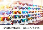 sports glasses for cycling in... | Shutterstock . vector #1333775546