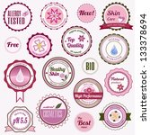 badges  labels and stickers... | Shutterstock .eps vector #133378694