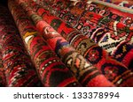 persian carpets and rugs | Shutterstock . vector #133378994