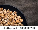 organic peeled tiger nuts  a... | Shutterstock . vector #1333800230