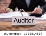 Nameplate With Auditor Title...