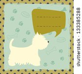 Cute Colorful Card With Cartoo...
