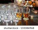 brandy glass | Shutterstock . vector #133386968
