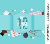 12 may international nurse day... | Shutterstock .eps vector #1333892660