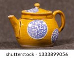 antique teaware collection of... | Shutterstock . vector #1333899056