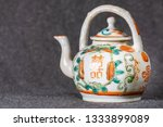 antique teaware collection of... | Shutterstock . vector #1333899089