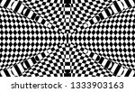 black and white glitch... | Shutterstock .eps vector #1333903163