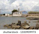 tonnara and swabian tower in...   Shutterstock . vector #1333909973