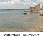 tonnara and swabian tower in...   Shutterstock . vector #1333909976