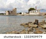 tonnara and swabian tower in...   Shutterstock . vector #1333909979