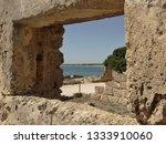 tonnara and swabian tower in...   Shutterstock . vector #1333910060