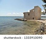 tonnara and swabian tower in...   Shutterstock . vector #1333910090