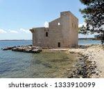 tonnara and swabian tower in...   Shutterstock . vector #1333910099