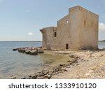 tonnara and swabian tower in...   Shutterstock . vector #1333910120