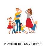 vector parenthood problems of... | Shutterstock .eps vector #1333915949