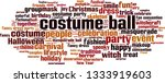 costume ball word cloud concept.... | Shutterstock .eps vector #1333919603