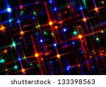 a blazing  multicolored  star... | Shutterstock . vector #133398563