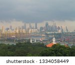 singapore  city  capital of the ... | Shutterstock . vector #1334058449