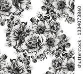 abstract elegance seamless... | Shutterstock . vector #1334073860