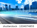 digital transformation concept | Shutterstock . vector #1334074853