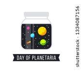international day of planetaria ... | Shutterstock .eps vector #1334087156