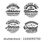 urban district typography... | Shutterstock .eps vector #1334090750