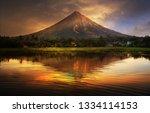 Mayon Volcano  Philippines...