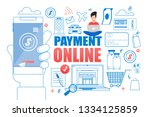 flat banner payment online on...