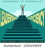 assessment personality... | Shutterstock .eps vector #1334154059