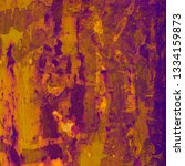 abstract purple canvas texture... | Shutterstock . vector #1334159873