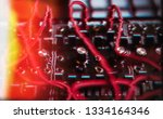 professional electronic... | Shutterstock . vector #1334164346