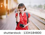 asian chinese photographer... | Shutterstock . vector #1334184800