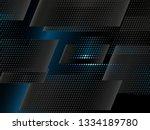 abstract conceptual halftone... | Shutterstock .eps vector #1334189780