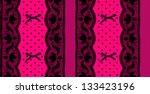 Lace And Mesh Seamless Pattern.
