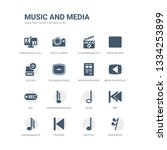 simple set of icons such as... | Shutterstock .eps vector #1334253899