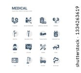 simple set of icons such as... | Shutterstock .eps vector #1334263619