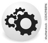 gear  cogwheel icon. repair ... | Shutterstock .eps vector #1334298896