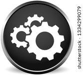 gear  cogwheel icon. repair ... | Shutterstock .eps vector #1334299079